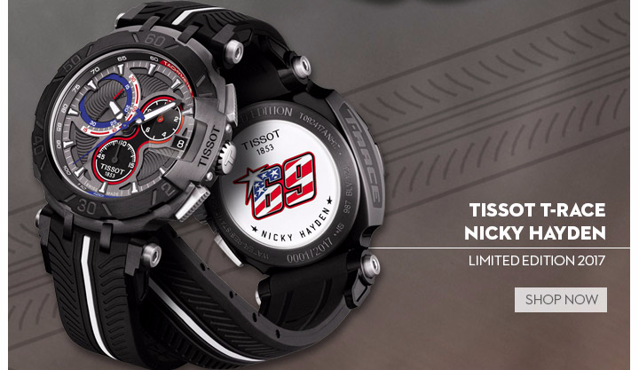 Tissot T-Race Nicky Hayden Limited Edition 2017